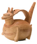 Antiques:Antiquities, Stirrup Spout Deer Whistle...
