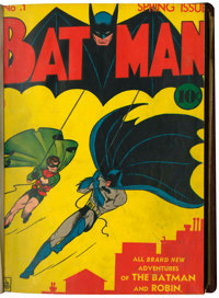 Batman #1-6 Bound Volume (DC, 1940-41)