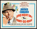 """Movie Posters:Crime, Dead Heat on a Merry-Go-Round (Columbia, 1966). Half Sheet (22"""" X 28""""). Crime.. ..."""