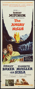 "Movie Posters:War, The Angry Hills (MGM, 1959). Insert (14"" X 36""). War.. ..."