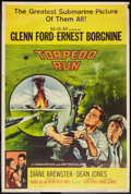 "Movie Posters:War, Torpedo Run (MGM, 1958). Poster (40"" X 60"") Z Style. War.. ..."
