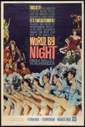 "Movie Posters:Documentary, World by Night (Warner Brothers, 1961). Poster (40"" X 60"") Style Y. Documentary.. ..."