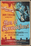 "Movie Posters:Adventure, The Men of Sherwood Forest Lot (Astor Pictures Corporation, 1954).Posters (2) (40"" X 60""). Adventure.. ... (Total: 2 Items)"