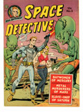 Golden Age (1938-1955):Science Fiction, Space Detective #2 (Avon, 1951) Condition: VG/FN....