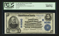 National Bank Notes:Pennsylvania, Huntingdon, PA - $5 1902 Plain Back Fr. 608 The Standing Stone NBCh. # (E)6090. ...