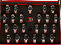 Omega, Speedmaster Missions Collection, Rare & Very Fine Set Of 23 Chronograph Wristwatches, Special Edition No...