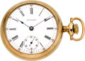 Timepieces:Pocket (post 1900), Waltham 18 size 15 Jewel Open Face, circa 1905. ...