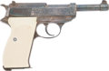 Military & Patriotic:WWII, Walther P-38 9 mm Automatic Pistol #319219....