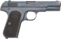 Military & Patriotic:WWI, Colt M1903 Hammerless .32 Cal. Automatic Pistol #63808 Mfg.1907....