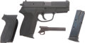 Military & Patriotic:WWII, SIG Arms SP 2340 Cal. 357 SIG/.40 S & W Automatic pistol # SP00 13800....