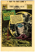 Golden Age (1938-1955):Science Fiction, The Spirit (weekly newspaper insert) 8/3/52 (Baltimore Sun, 1952)Condition: NM-....