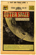 Golden Age (1938-1955):Science Fiction, The Spirit (weekly newspaper insert) 7/27/52 (Baltimore Sun, 1952)Condition: FN/VF....