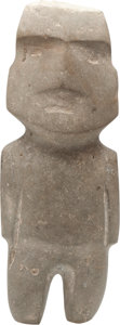 Antiques:Antiquities, Mezcala Stone Standing Figure...
