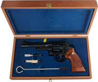 Smith & Wesson Model 27-2 Double-Action Revolver in the Original Wood Case