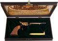 Military & Patriotic:Indian Wars, Colt Commemorative Golden Spike 1869-1969 SAA Frontier Scout Revolver....