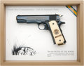 """Military & Patriotic:WWI, Colt Commemorative World War I Series """"2nd Battle of the Marne"""" .45 Automatic Pistol...."""