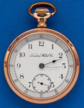 Timepieces:Pocket (post 1900), Trenton 18 Size, 11 Jewel Pocket Watch. ...