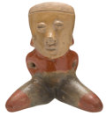 Antiques:Antiquities, Chinesco Seated Female Figure...