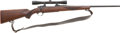 Military & Patriotic:WWII, Ruger Model 77 Bolt Action Rifle With Leupold M8-4X Scope....