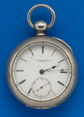 Timepieces:Pocket (pre 1900) , Rockford 11 Jewel, 18 Size Key Wind. ...