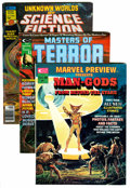 Magazines:Miscellaneous, Marvel Magazines Group (Marvel, 1975-83) Condition: Average VF....(Total: 8 Comic Books)