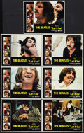 """Movie Posters:Rock and Roll, Let It Be (United Artists, 1970). Lobby Cards (7) (11"""" X 14""""). Rockand Roll.. ... (Total: 7 Items)"""