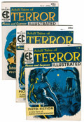 Golden Age (1938-1955):Horror, Terror Illustrated #1 and 2 Group (EC, 1955-56).... (Total: 3 ComicBooks)