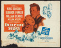 """Movie Posters:Crime, Detective Story (Paramount, 1951). Half Sheet (22"""" X 28"""") Style B. Crime.. ..."""