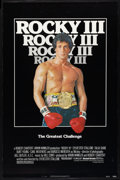 "Movie Posters:Sports, Rocky III (United Artists, 1982). Cardstock One Sheet (27"" X 41""). Sports.. ..."