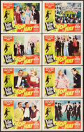 """Movie Posters:Musical, Top Hat (RKO, R-1953). Lobby Card Set of 8 (11"""" X 14""""). Musical.. ... (Total: 8 Items)"""