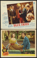 "Movie Posters:Musical, Blue Skies Lot (Paramount, 1946). Lobby Cards (2) (11"" X 14"").Musical.. ... (Total: 2 Items)"