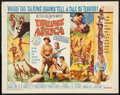 "Movie Posters:Adventure, Drums of Africa (MGM, 1963). Half Sheet (22"" X 28""). Adventure....."