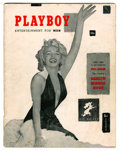 Magazines:Miscellaneous, Playboy #1 (HMH Publishing, 1953) Condition: GD....