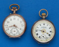 Two - Swiss Silver Pendant Watches