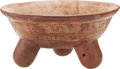 Antiques:Antiquities, Maya Tripod Bowl...