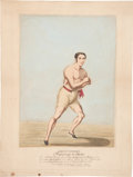 Miscellaneous Collectibles:General, 1826 J. Goodman Hand Colored Print....