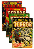 Golden Age (1938-1955):Horror, Startling Terror Tales #4 and 6-8 Group (Star Publications,1953-54) Condition: Average VG+.... (Total: 4 Comic Books)
