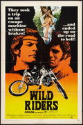"Movie Posters:Exploitation, Wild Riders (Crown International, 1971). One Sheet (27"" X 41"").Exploitation.. ..."