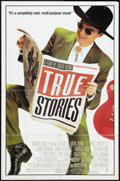 "Movie Posters:Rock and Roll, True Stories (Warner Brothers, 1986). One Sheet (27"" X 41"") StyleB. Rock and Roll.. ..."