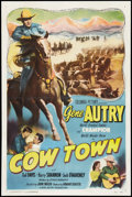"Movie Posters:Western, Cow Town (Columbia, 1950). One Sheet (27"" X 41""). Western.. ..."