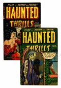 Golden Age (1938-1955):Horror, Haunted Thrills #3 and 4 Group (Farrell, 1952).... (Total: 2 ComicBooks)