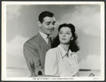 "Movie Posters:Adventure, Clark Gable and Rosalind Russell in ""They Met in Bombay"" (MGM,1941). Photos (6) (8"" X 10""). Adventure.. ... (Total: 6 Items)"