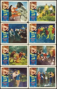 """World Without End (Allied Artists, 1956). Lobby Card Set of 8 (11"""" X 14""""). Science Fiction. ... (Total: 8 Item..."""