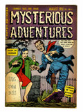 Golden Age (1938-1955):Horror, Mysterious Adventures #3 (Story Comics, 1951) Condition: FN-....