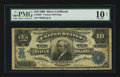 Large Size:Silver Certificates, Fr. 303 $10 1908 Silver Certificate Star Note PMG Very Good 10Net.. ...
