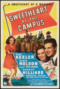 """Movie Posters:Musical, Sweetheart of the Campus (Columbia, 1941). One Sheet (27"""" X 41""""). Musical.. ..."""