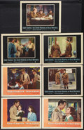 "Movie Posters:War, Task Force Lot (Warner Brothers, 1949). Lobby Cards (7) (11"" X14""). War.. ... (Total: 7 Items)"