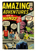Silver Age (1956-1969):Horror, Amazing Adventures #2 (Marvel, 1961) Condition: VG/FN....