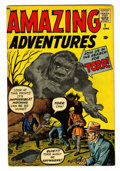 Silver Age (1956-1969):Horror, Amazing Adventures #1 (Marvel, 1961) Condition: FN....