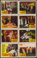 "Movie Posters:Science Fiction, The Man Who Turned to Stone (Columbia, 1957). Lobby Card Set of 8 (11"" X 14""). Science Fiction.. ... (Total: 8 Items)"